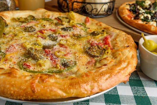 Pepper's Sweet Heat Pizza