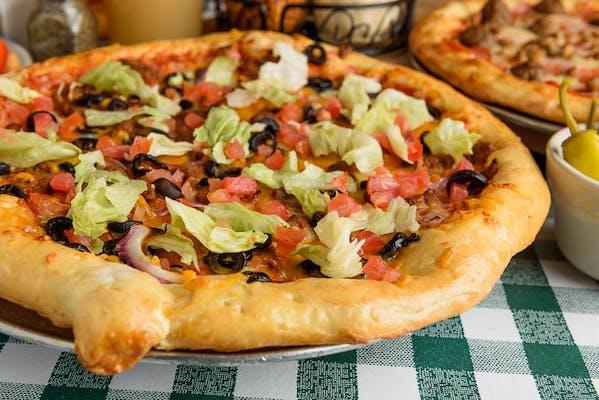 Southwest Taco Pizza