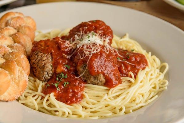 Spaghetti & Italian Meatballs