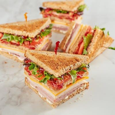 Orange Cranberry Club Sandwich