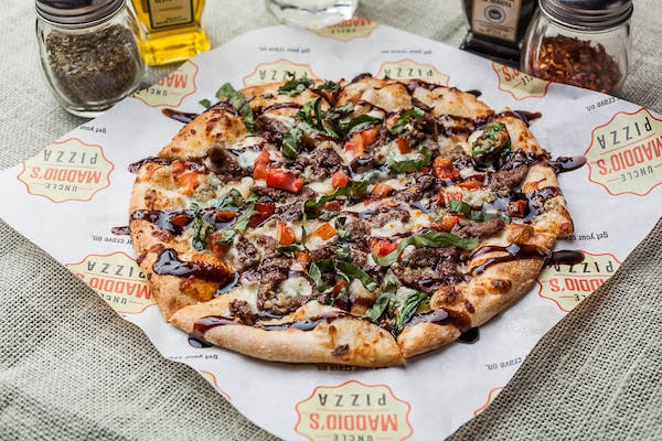 Steak & Blue Pizza
