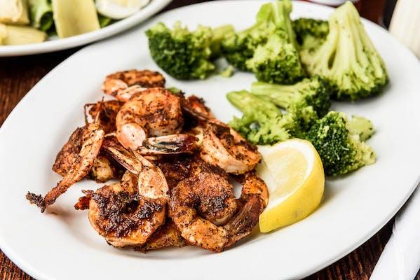 Eat Fit Grilled Shrimp Platter