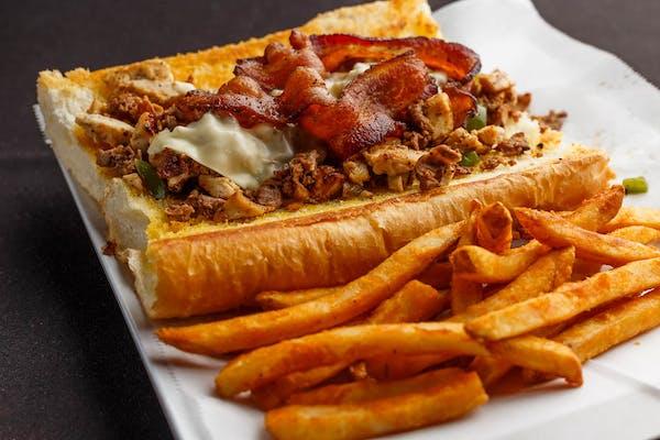Triple-Run Philly Sandwich