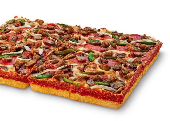 Deep! Deep! Dish Ultimate Supreme Pizza