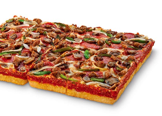 Deep! Deep! Dish Ultimate Supreme Pizza