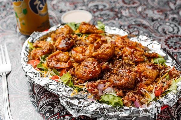 Fried Shrimp Salad