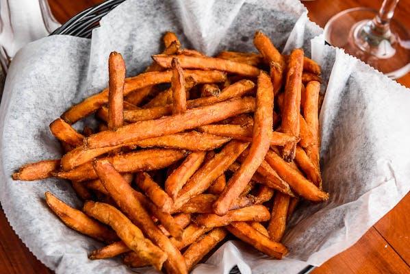 Vanilla Cinnamon Sweet Potato Fries