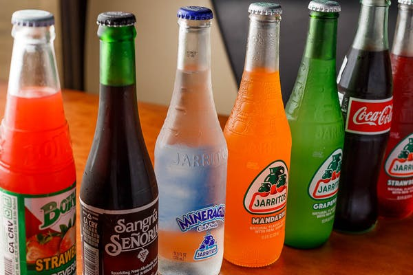 Mexican bottle sodas