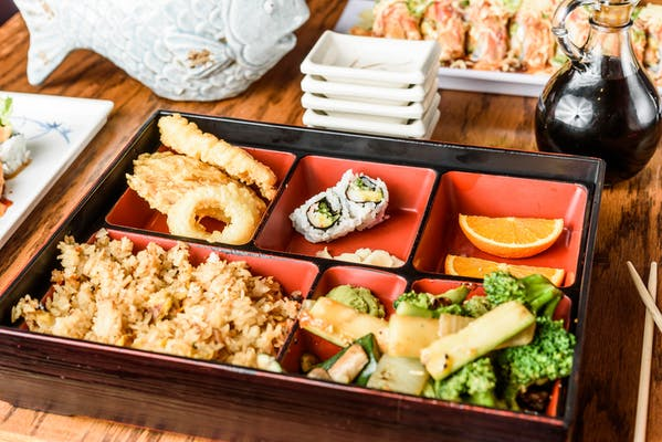 Vegetable Bento Box