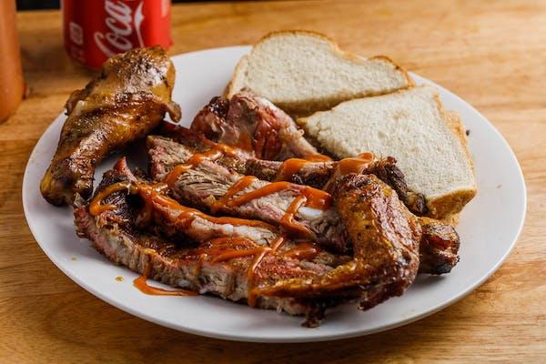 Medium Rib & Chicken