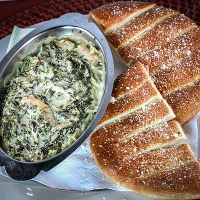 Spinach, Artichoke & Shrimp Dip