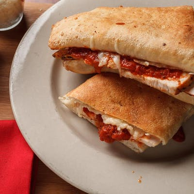 Grilled Chicken Parmesan Sandwich