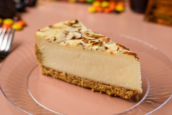 Amaretto Almond Cheesecake