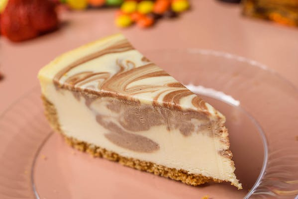Fudge Marble Cheesecake