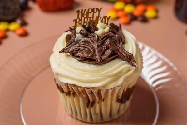 Fudge Marble Cupcake