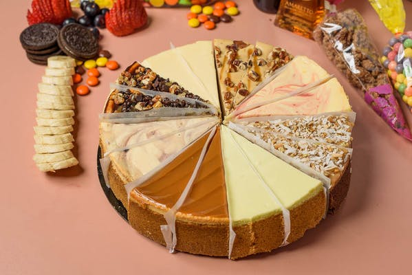 Baker's Choice Cheesecake Sampler