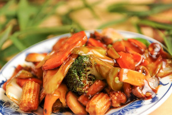 Sautéed Mixed Vegetables
