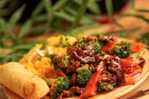 Beef or Shrimp with Broccoli