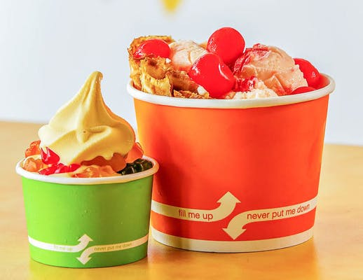 Frozen Yogurt Cup