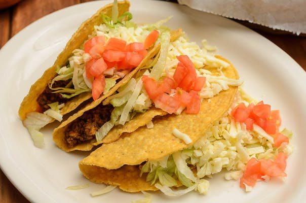 Regular Tacos Plate (#4A)