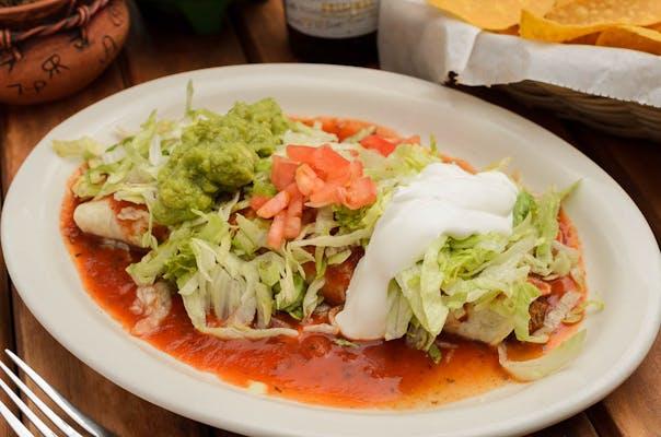 (L11) Burrito Supreme Lunch Special