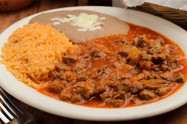 (L22) Chile Colorado Lunch Special