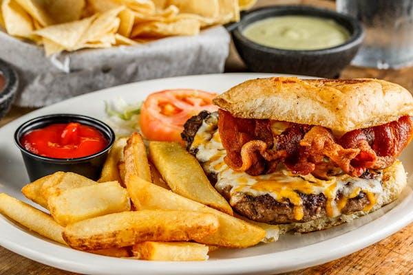 Half-Pound Bacon Cheeseburger
