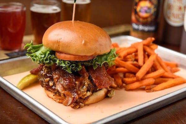 BBQ Blues Burger