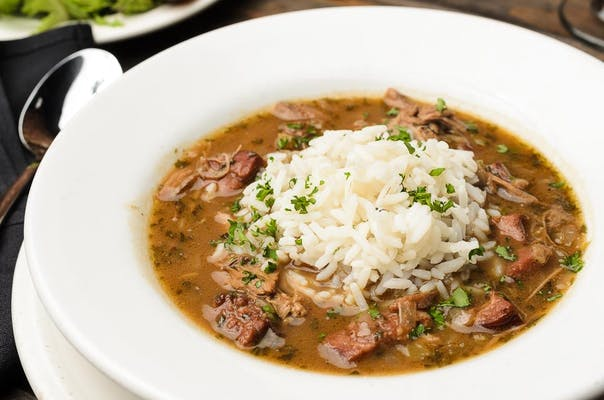 Smoked Duck & Andouille Gumbo