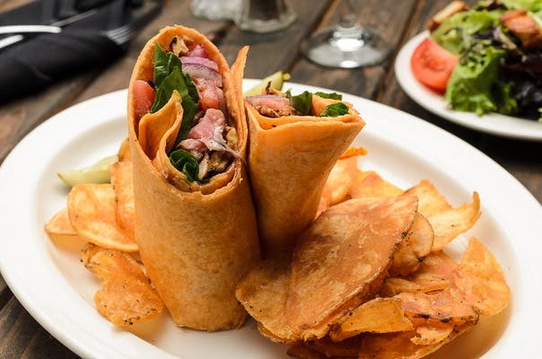 Tuna Spinach Wrap