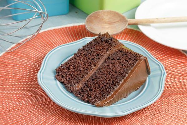 Large Chocolate on Chocolate Slice