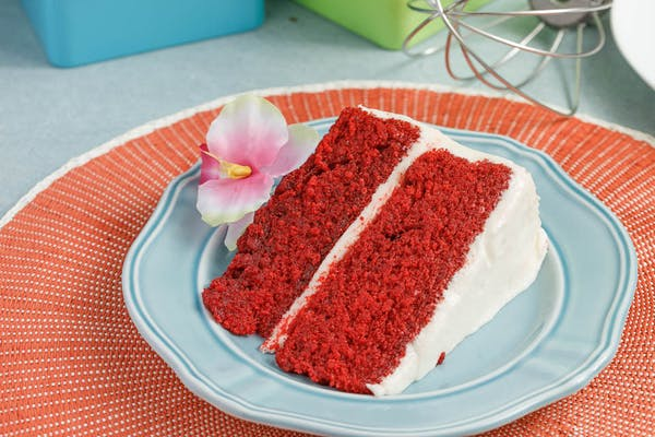 Large Red Velvet Slice