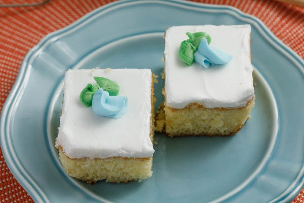 Birthday Cake Squares