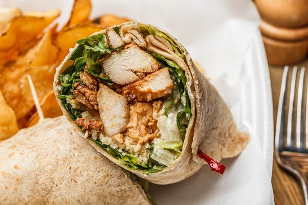 Chicken or Shrimp Caesar Wrap