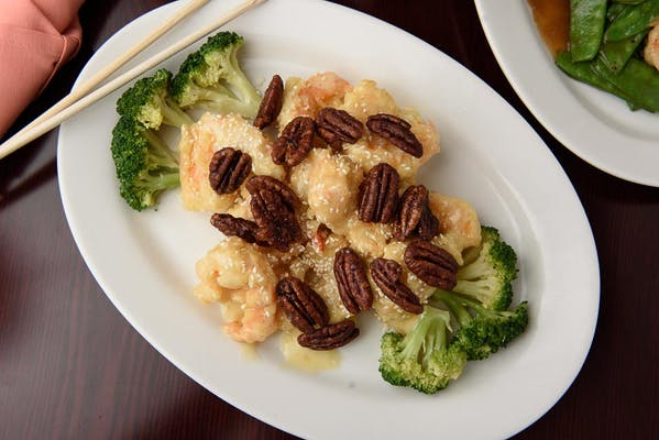 32. Honey Pecan Shrimp