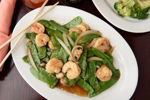 138. Snow Peas with Shrimp