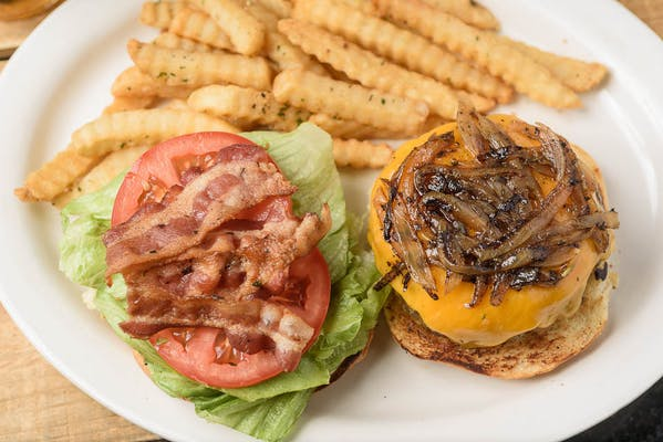 Meek's Special Burger