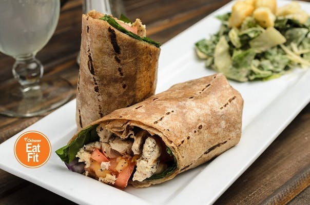 Grilled Chicken Wheat Wrap
