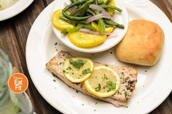 Lemon Vinaigrette Roasted Mahi-Mahi