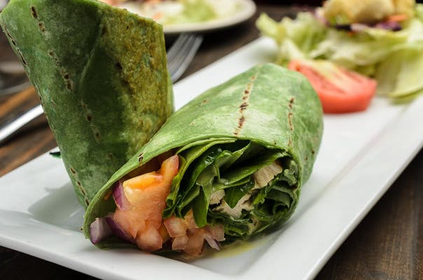Chicken Wheat Wrap Combo