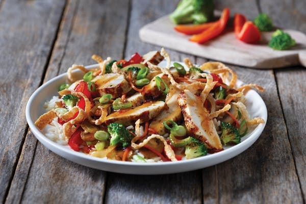 Chicken Wonton Stir-Fry