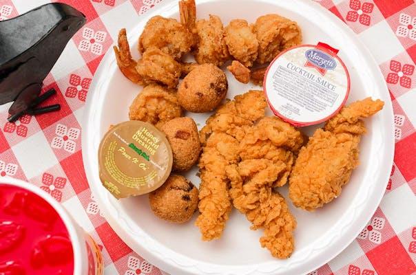 (6 pc.) Fried Shrimp & Tenders