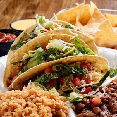 Crispy Tacos Plate