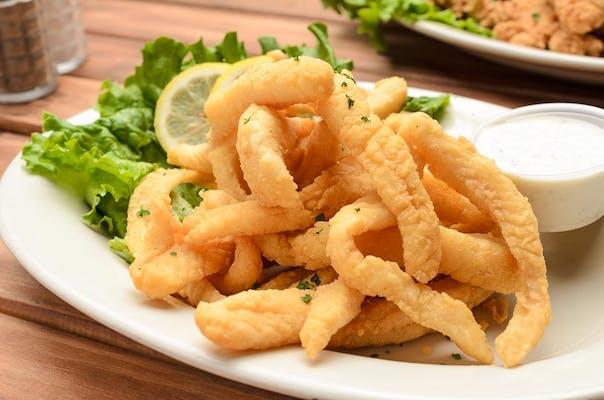 Fried Fish Strips