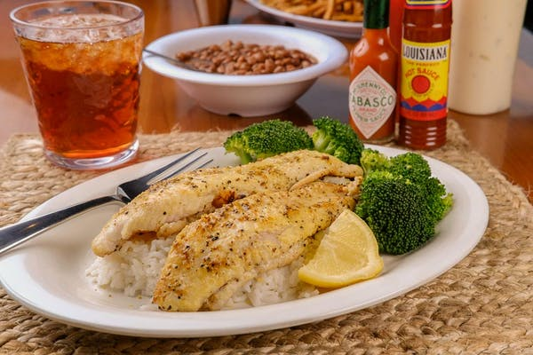 Lemon Pepper Catfish Dinner