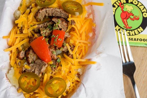 Beef Fajita Potato