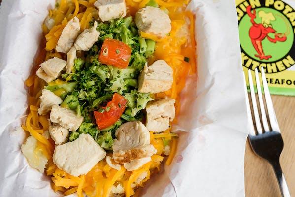 Chicken-N-Broccoli Potato