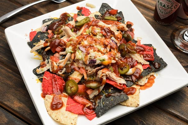 Barbeque Nachos