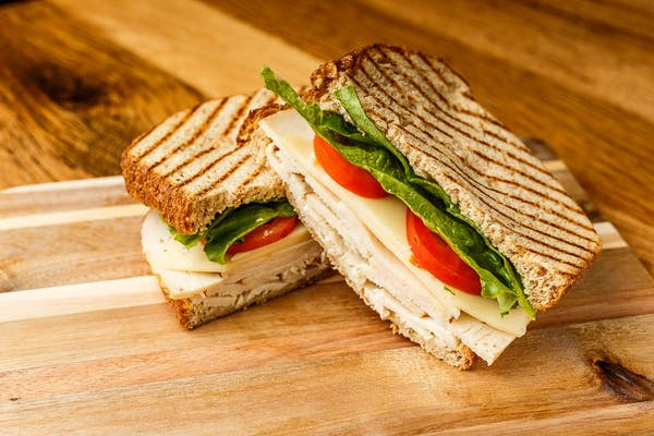 Sliced Chicken Sandwich