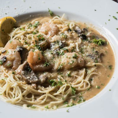 Pasta Shrimp Copeland